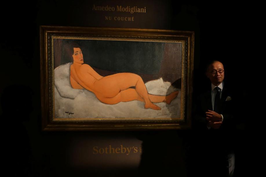 Il quadro all'asta da Sothebys